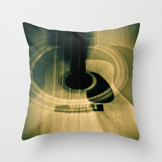 Wood Works Throw Pillow