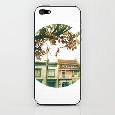 Inner Sunset Flower Trees iPhone & iPod Skin