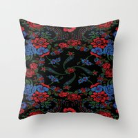 russian Throw Pillows featuring Russian Style by Eduardo Doreni