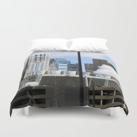 power Duvet Covers featuring Power by Andrew C. Kurcan