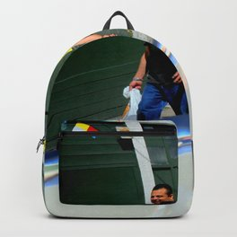 Lemon Ice Service Backpack
