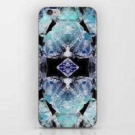 Turquoise Mandala-Throat Chakra iPhone Skin