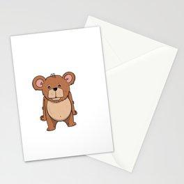Cute Bear Stationery Cards