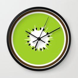 Slice of Kiwi Wall Clock