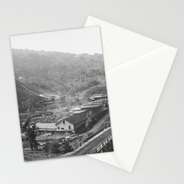 Smelting Works at the New Almaden Mine Stationery Cards