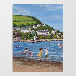 Newquay, Wales Poster