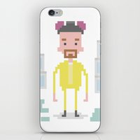walter white iPhone & iPod Skins featuring Walter White by Andrew Fox