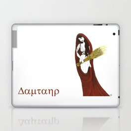 The Lady Demeter, Earth Mother Laptop & iPad Skin