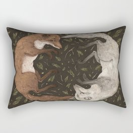 Foxes Rectangular Pillow