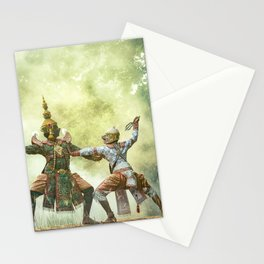 Actor Indian sport Theater Stationery Cards