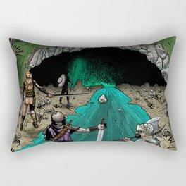 Party Approaching Cave Rectangular Pillow
