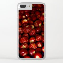 Delicious red Clear iPhone Case