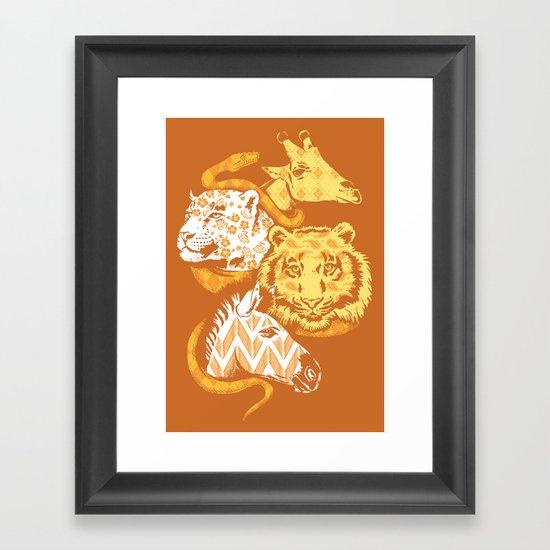 Animal Prints Framed Art Print