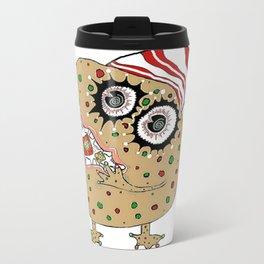 Christmas Fruitcake Monster Travel Mug