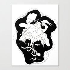 Oil Spill Canvas Print