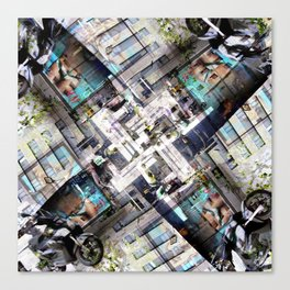 Pangs reap lifeline middle wad thyme (v. 1). Canvas Print