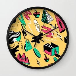 nonsense days Wall Clock