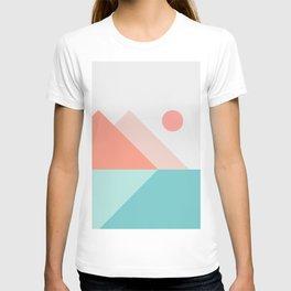 Geometric Landscape 13 T-shirt