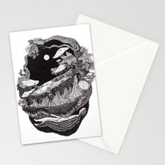 dark spirit of the nature collab franciscomff Stationery Cards