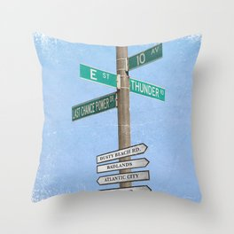 Springstreets Throw Pillow