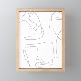 Sculpt Framed Mini Art Print