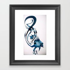 8ight Framed Art Print