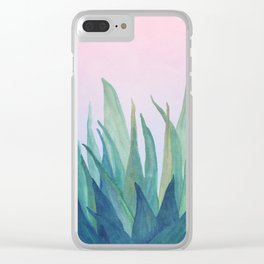Botanical vibes 10 Clear iPhone Case