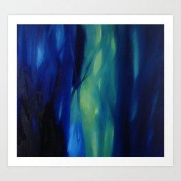 dentro il bosco Art Print