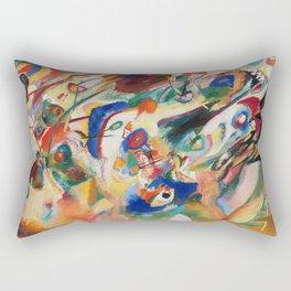 Kandinsky Sketch 2 for Composition 7 Rectangular Pillow