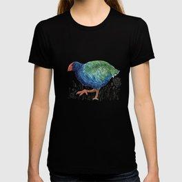 Takahe, flightless bird of New Zealand T-shirt
