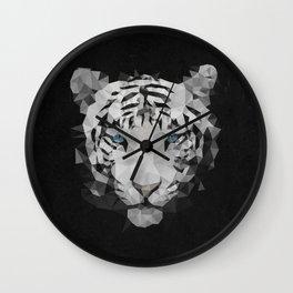 Meduzzle: White Tiger Wall Clock