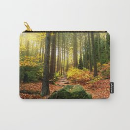Path Through The Trees - Landscape Nature Photography Carry-All Pouch