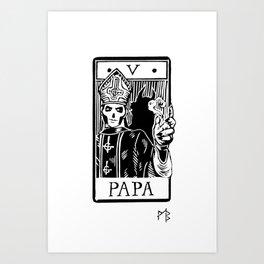 Arcane V - Papa Emeritus III Art Print