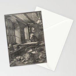 Albrecht Dürer, Saint Jerome in His Study Stationery Cards