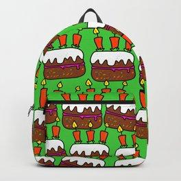 Birthday Cake Background Design Backpack