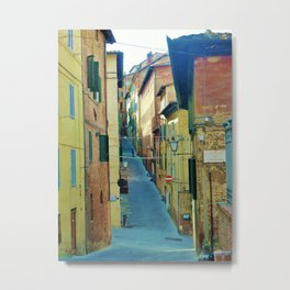 lonely alley Metal Print