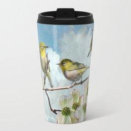 Mejiro in Dogwood Tree Travel Mug