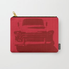 CHEVY PICKUP IN MONOCHROMATIC RED Carry-All Pouch