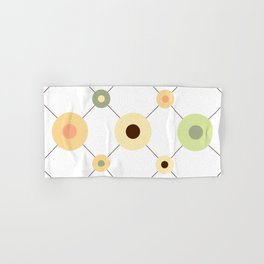 Circles and Wires Hand & Bath Towel