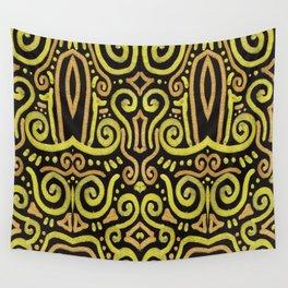 Golden Manipura 2 Wall Tapestry
