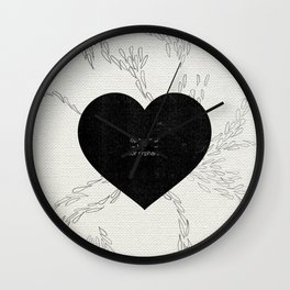 open you heart to orphans Wall Clock