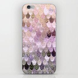 SUMMER MERMAID MOONSHINE GOLD iPhone Skin