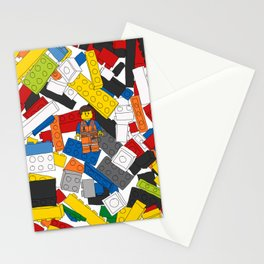 The Lego Movie Stationery Cards