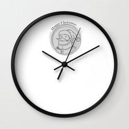 x-mas two Wall Clock
