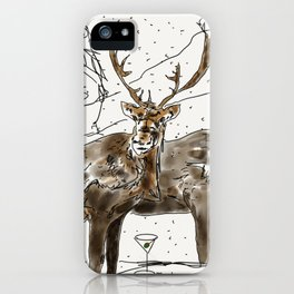 The Holidays iPhone Case