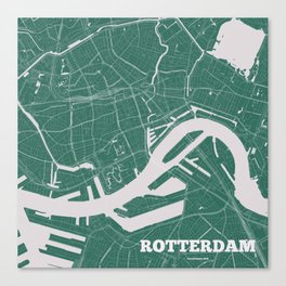 Rotterdam, the Netherlands 2018 Canvas Print