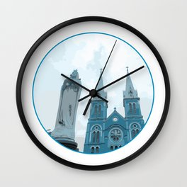 Vietnam Notre Dame Cathedral Ho Chi Minh City Wall Clock