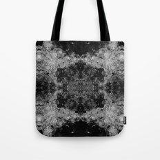 River Foam Collage Tote Bag