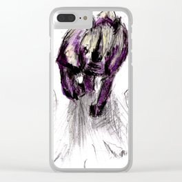 Rumble Rock Smash! Clear iPhone Case