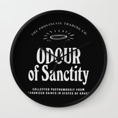 Odour of Sanctity Wall Clock